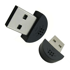 Mini USB 2.0 Microphone Wireless MIC Audio Adapter Driver For MSN Notebook