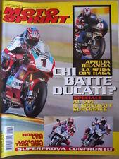 MOTOSPRINT n°10 2002 Honda VFR vs Yamaha TDM 900  [P60]