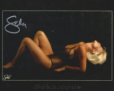 Seka Adult Film Star Pornstar Autographed/Signed Color 8x10 Photo Picture w/COA