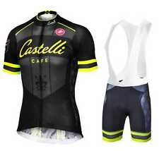 Completo ciclismo/Cycling Jersey and pants  Team Castelli yellow