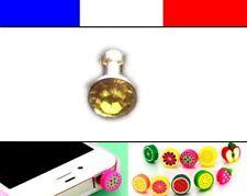 Cache anti-poussière jack universel iphone protection capuchon bouchon Diamant 3