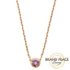 Cartier Safir Leger de Cartier necklace K18PG/1P Pink Sapphire B7218400