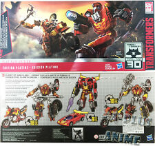 TRANSFORMERS PLANET OF JUNK CLASH PLATINUM HOT ROD WRECK-GAR SCRAPHEAP SET FAST