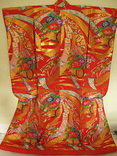 Authentic Japanese Wedding Kimono Uchikake