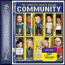 COMMUNITY - COMPLETE SERIES SEASON 4  **BRAND NEW DVD **