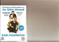 AN IDIOT ABROAD COMPLETE SERIES 1 DVD KARL PILKINGTON