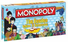 Monopoly Board Game Beatles Yellow Submarine Edition Sealed Never Played RARE