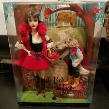 Little Red Riding Hood & the Wolf 2008 Barbie Doll Silver Label NIB NRFB