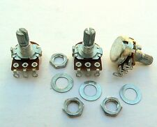 A500K 3 mini pot set Fender Stratocaster/Jazz Bass guitar 500K log potentiometer