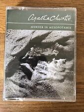 Agatha Christie AUDIOBOOK 2 Cassette Murder In Mesopotamia Read by Carole Boyd