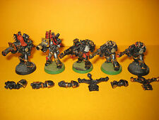 Warhammer 40k-caos Space Marine del - 5x havocs in metallo