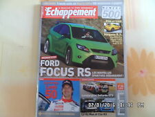 ECHAPPEMENT N°500 Avril 2009 FORD FOCUS RS RENAULT MEGANE RS LOEB  J23
