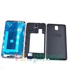 FRAME + CHASSIS + FULL HOUSING FOR SAMSUNG GALAXY NOTE 3 N9005 LTE #BLACK