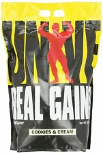 Cookies N Cream Universal Real Gains 10lb Bag Mass Weight Gainer