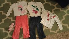 NWOT Baby Gap Old Navy Lot Jeans Pants Shirts 2T 18 24 mos.
