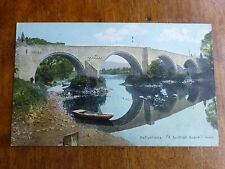 R119 Reflections - A Scottish Scene Postcard c1911 Shureys Publications