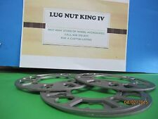 """4 WHEEL SPACER  1/8"""" OR ,3 MM THICK 5 LUG NUTS 5ON 4 3/4, 5 0N 4 1/2, BOLT PATT"""