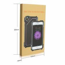 Waterproof Shockproof Dustproof Metal Case Cover for iPhone 7 W/ 3 Lens Kit