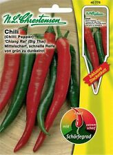 "N.L.Chrestensen Chili "" Chiang Rai "" Big Thai Chilli Pepper 40775 Paprika Samen"