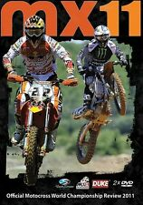 MX11 Motocross World Championship - Official review 2011 (New 2 DVD set)