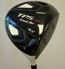 NEW PVD 460CC WHITE POWERBILT TPS DRIVER POWER BILT #1 WOOD BUILT GOLF CLUBS