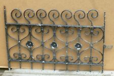 Antique Wrought Iron WINDOW GATE Guard - Architectural Salvage 29""