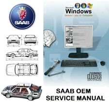 SAAB 9-5 (9650) 2010-2011 Service Repair Workshop Manual WIS & EPC