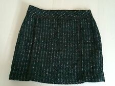 Nwt Ann Taylor Loft Wool Blend Warm Pencil Mini Skirt Sz.6-m
