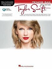 Taylor Swift: Tenor Saxophone Play-Along Book with Online Audio (Instrumental Pl