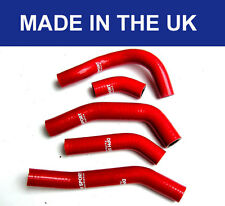 HONDA CRF250 CRF250R SILICONE RADIATOR HOSES WATER PIPES KIT RED 2014 2015 2016