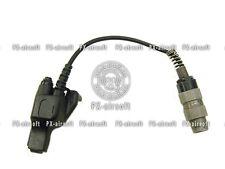 PRC U-229 to Motorola HT 1000 MTS 2000 XTS 2500 3000 3500 5000 Radio Adapter