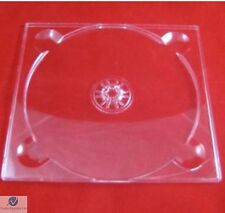 50 CD Digi Tray Clear High Quality (for Card Sleeved CDs) CD Size Flexi Tray NEW