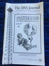 Antique Wireless Association Journal Jan. 2007 VTG Radio Tube Schematics RC-123
