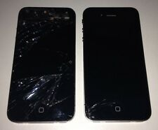 Lot of 2 iPhone 4 Smartphone Fair Condition iPhones Only For Parts Read Below