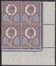 SG 293 5d Dull Reddish Purple & Cobalt Blue M30 (1) Plate H4b D5 , three U.M.