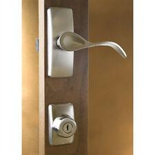 Storm Door Hardware Handle Set-Nickel-2 Piece for 1 Inch Thick Door-90168-99