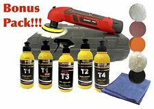 CORDLESS POLISHER BONUS KIT MINI BUFFER 12V 80MM LITHIUM-ION SANDER TOOLS