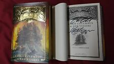 New Chris Columbus Ned Vizzini Signed House of Secrets 1/1 HC DJ Book Fantasy