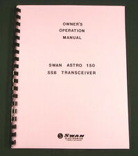 Swan Astro 150 Instruction Manual - Premium Card Stock Covers & 28lb Paper!