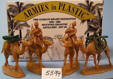 Armies in Plastic 5594 -1884-1885 Mounted Infantry (Gordon) - Artillery Set #4