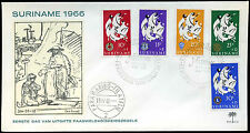 Suriname 1966 Easter Charity FDC First Day Cover #C29281