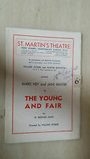 ST MARTIN'S THEATRE PROGRAMME- FAY COMPTON & ANTON WALBROOK in THE WILD DUCK