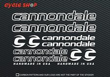 Cannondale Bike Decal Sticker Outline Set MTB DH Cycling Road Racing Fixie #1