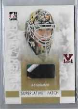 2008 In the Game Superlative PATCH J-S Giguere #d 1/1