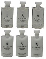 Bvlgari White Tea au the blanc Shampoo & Conditioner lot of 6 (3 of each)