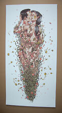 Pixel Pancho The Last Kiss Street Art Print Limited Graffiti Poster Klimt Gustav