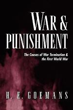 War and Punishment: The Causes of War Termination and the First World War
