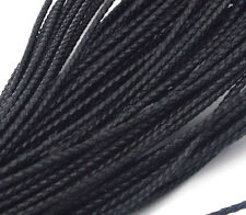 New Genuine Round Leather Cord for DIY Jewelry Necklace Bracelet Making String