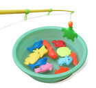 Fashion Kids Children Bath Time Magnetic Fishing Game Toys Set Rod Hook Catch