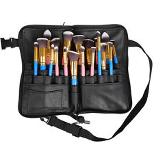 Pro Makeup Bag Apron 28 Pocket Cosmetic Brush Case Artist Belt Strap Holder Tool